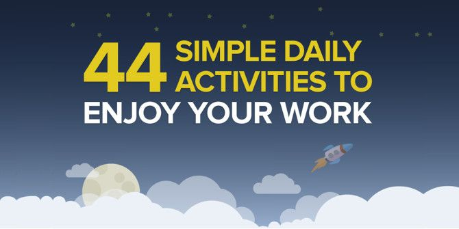 Make Every Workday A Rewarding Experience With These Activities