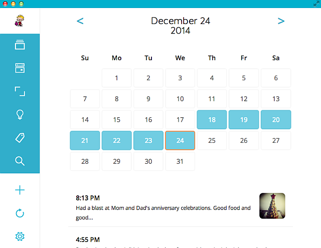 Journey-beautiful-journal-app-Android-Chrome-calendar