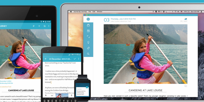 Meet Journey, A Beautiful Journal App For Chrome And Android