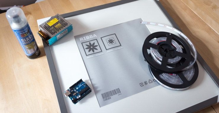 Weekend Project: Build a Giant LED Pixel Display LED display materials
