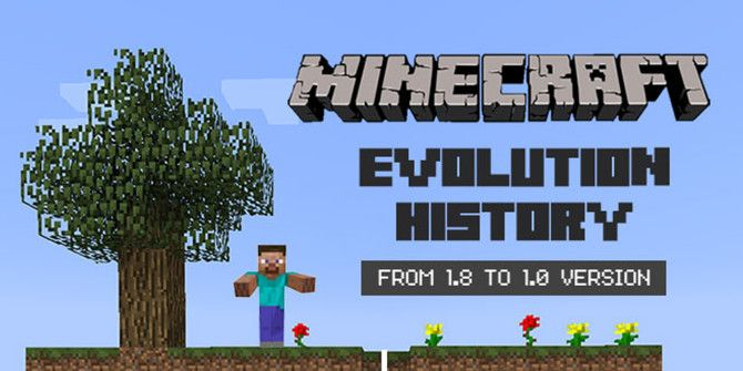 A History Of Minecraft Told By Version Numbers