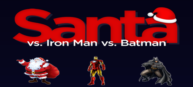 What If Santa Went Head-To-Head With Iron Man And Batman?