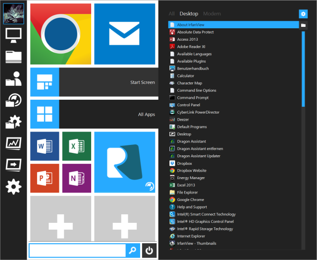 Start Menu Reviver Expanded