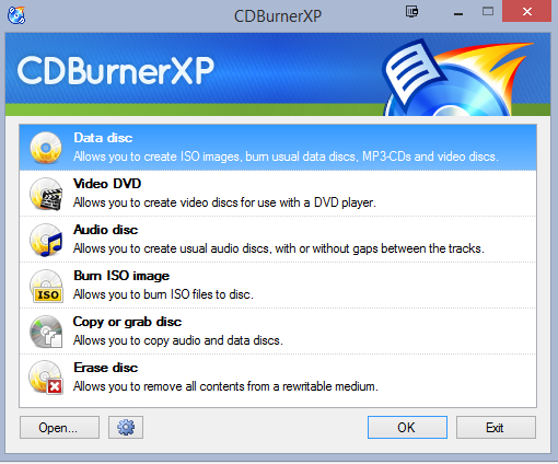 The Best Portable Apps cdburnerxp