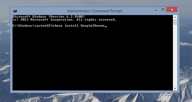 The Quickest Way To Install Windows Software: From The Command Prompt chocolatey install chrome