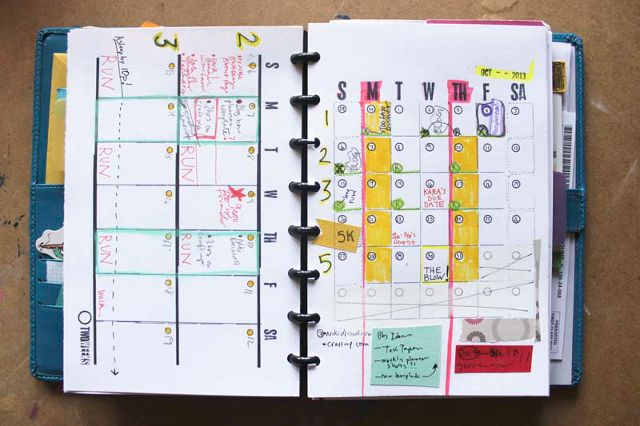 Diy Calendar On Word : How to create a custom planner meet your goals in