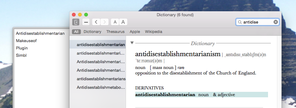 Customize Almost Anything On Your Mac With EasySIMBL easysimbl better dictionary