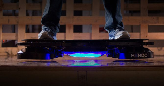 The Hendo: The World's First Real Hoverboard