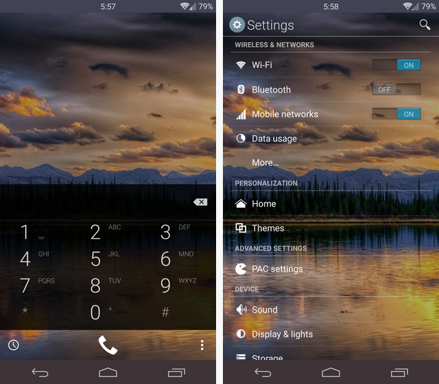 More Of The Best Free CyanogenMod Themes hologlass 1