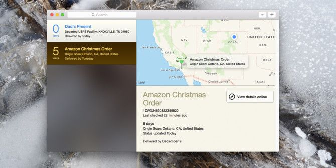 Deliveries Tracks Incoming Packages, Adds Dates to Your Calendar