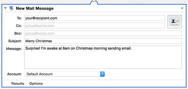How to Schedule Email on Your Mac mailmessage