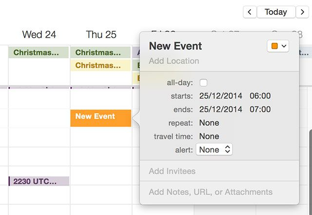 How to Schedule Email on Your Mac newevent