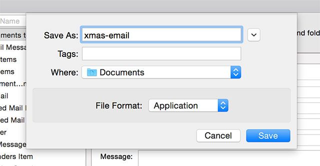 How to Schedule Email on Your Mac save
