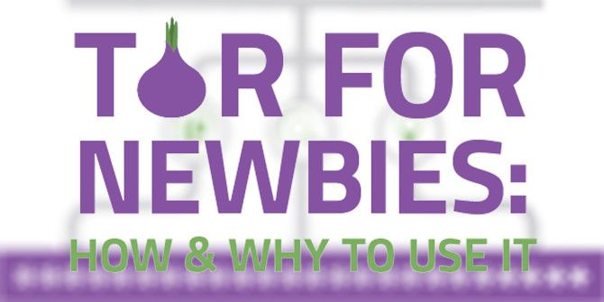 TOR For Newbies: When Should You Use It?