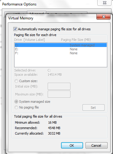 how to fix low memory on windows 8