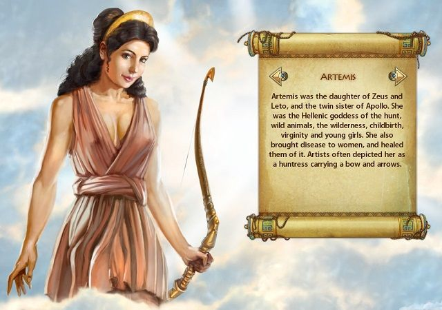 Heroes of Hellas 3 Artemis