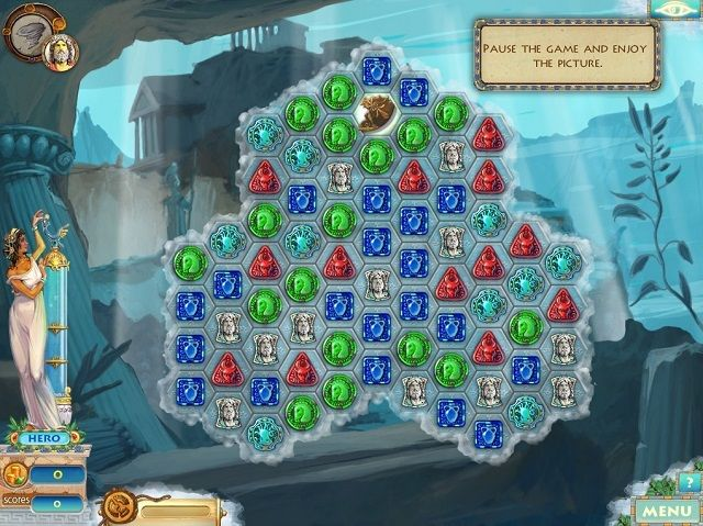 Heroes of Hellas 2 Game Board