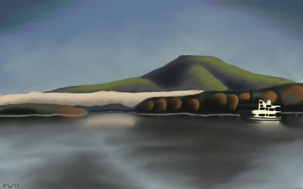 Lake-Akan-Painting