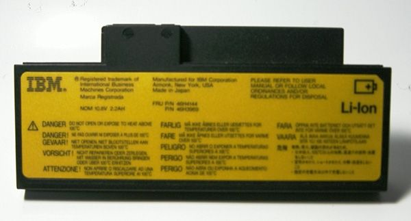 IBM Lithium Ion Battery