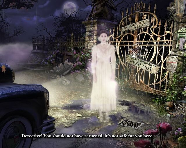 Still from Mystery Case Files Escape From Ravenhearst