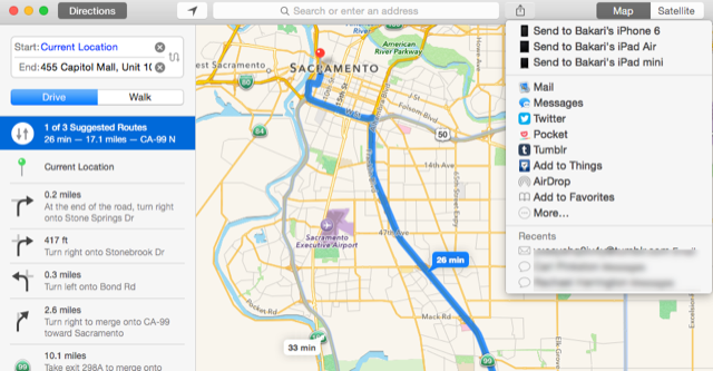 Maps for Mac
