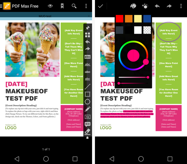 What Is The Best PDF Editing & Annotation App For Android? PDF max app 1