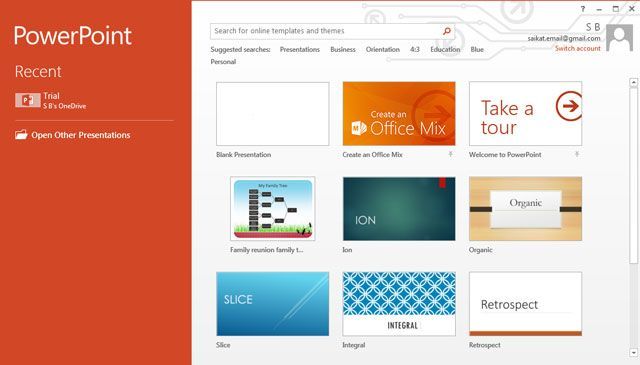10 free powerpoint templates to present your photos with style powerpoint template screen toneelgroepblik Gallery