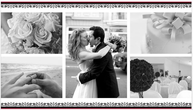 10 free powerpoint templates to present your photos with style say it with a wedding photo album toneelgroepblik Choice Image
