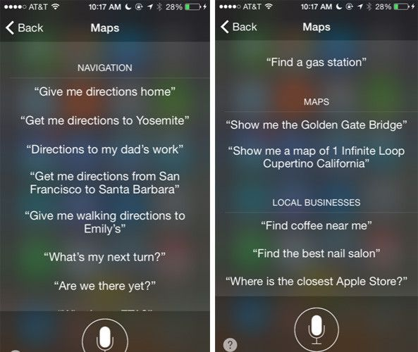 Is Apple Maps a Reliable Navigator Yet? Siri map commands 593x500