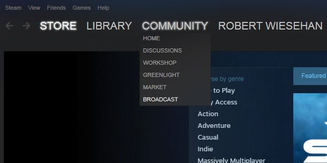 Steam-Broadcast-Link