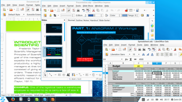 Zorin OS Office
