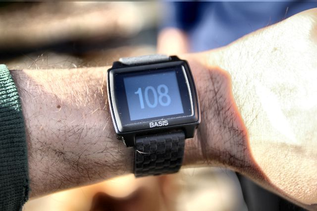 basis peak on the wrist