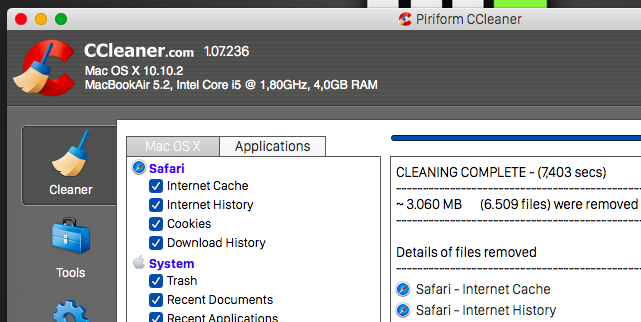 Everything You Can Do to Free up Space on Your Mac ccleaner