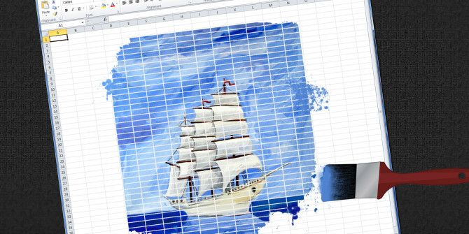 7 Fun & Weird Things You Can Create With Microsoft Excel