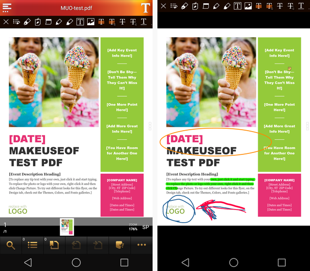 What Is The Best PDF Editing & Annotation App For Android? ezPDF reader app 1