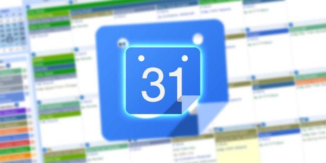 How To Use Google Calendar As A Visual Motivational Tool