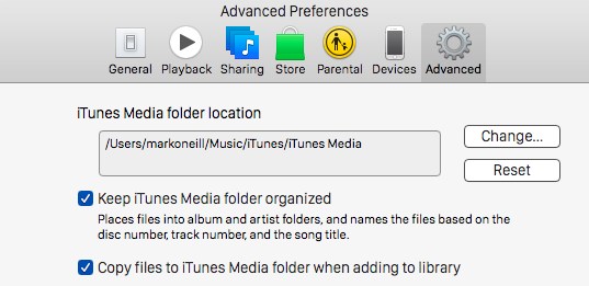 Everything You Can Do to Free up Space on Your Mac itunespreferences