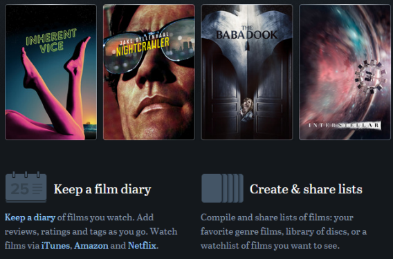 5 More Tools for the Movie & TV Fanatic letterboxd