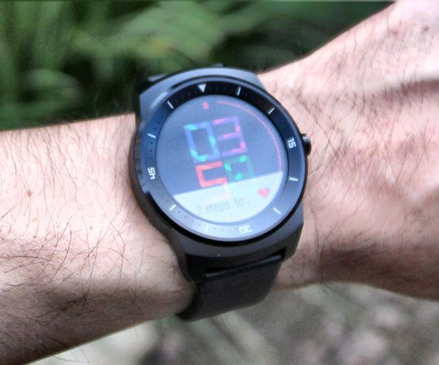 lg g watch r outdoor visibility