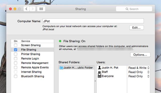 windows 7 mac file sharing permissions