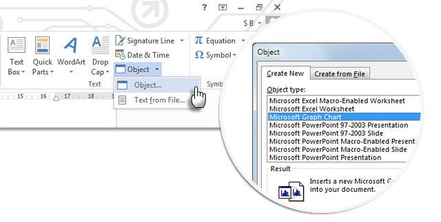 10 hidden microsoft word features that will make your life easier word 2013 insert chart ccuart Image collections