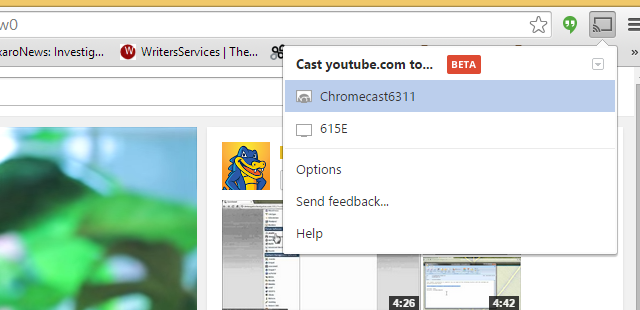 stream video from vlc to chromecast