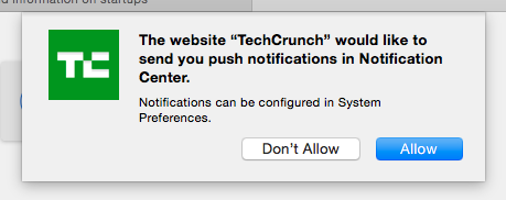 Pop Ups on Your Mac? How to Stop Them Once and For All notifications tech crunch