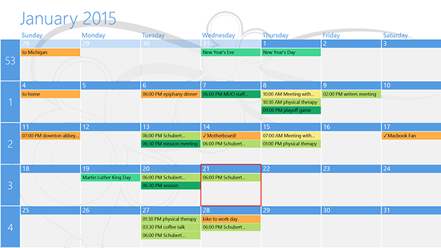 windows 8 naptár How to Sync Your Google Calendar Appointments With Windows 8 windows 8 naptár