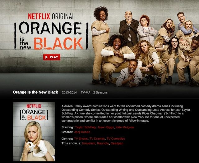 The Ultimate Guide to Watching Online TV with Private Internet Access orange new black 1