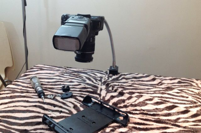 snake clamp DSLR camera attachment