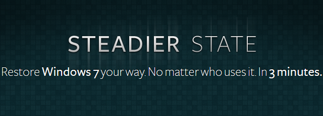 steadier state