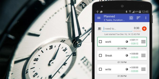 Time Your Tasks And Tackle Your To-Do List With Do Now For Android