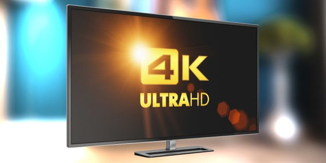 What Can You Actually Watch On a 4k TV?