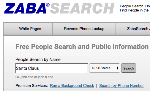 4 Steps to Find Information on Someone Online zabasearch